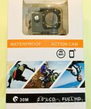 "Экшн-камера Waterproof Action Camera, 2"" inch screen, LCD, FHD"